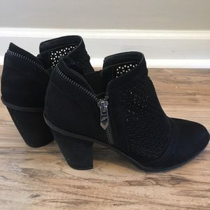 Fergie Women Dream Bootie Black 6.5